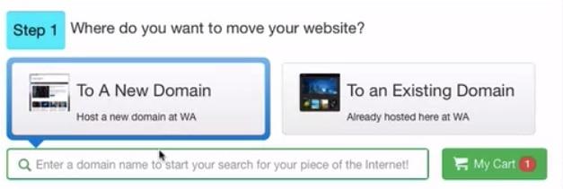 redirect SiteRubix website to premium hosting