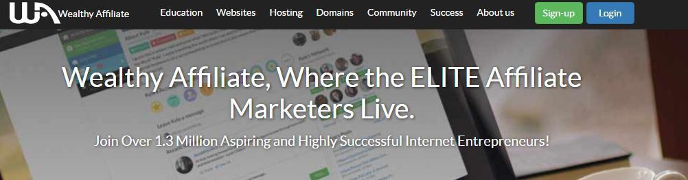 SiteRubix website platform was built by Wealthy Affiliate