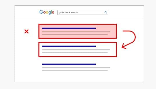 Google de-ranks website with lots of pogo sticking