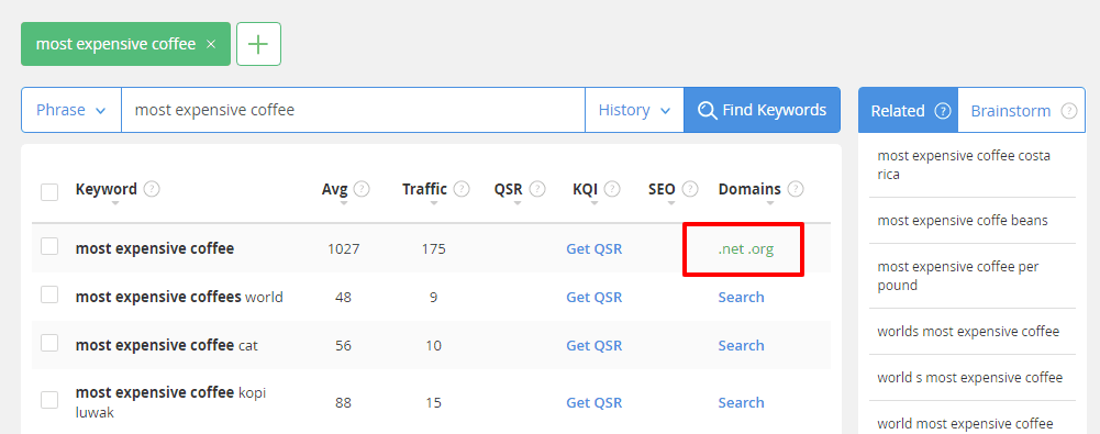 Jaaxy can help you snatch exact match domains