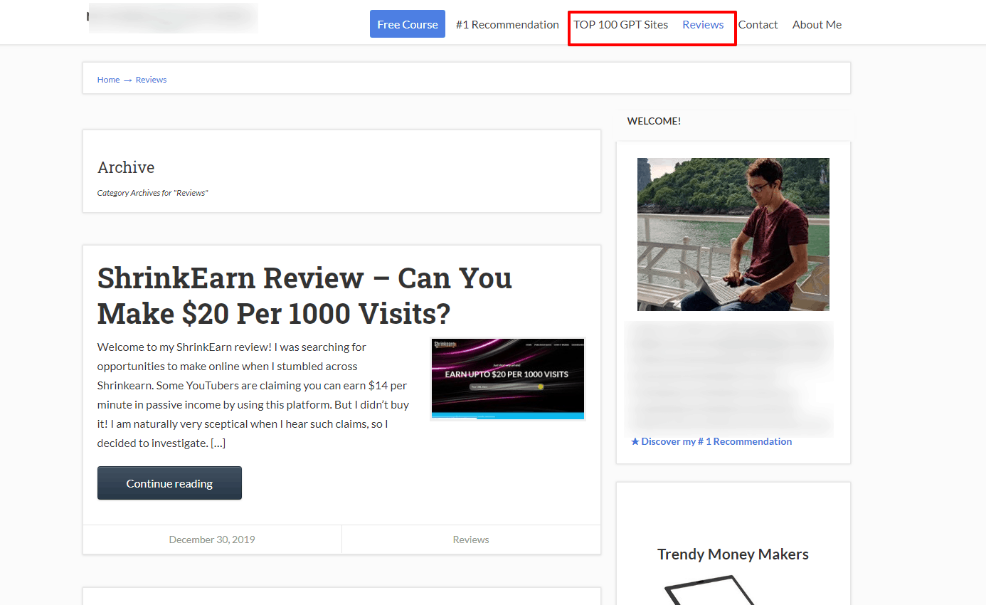 Pure review affiliate sites is a common rookie mistake