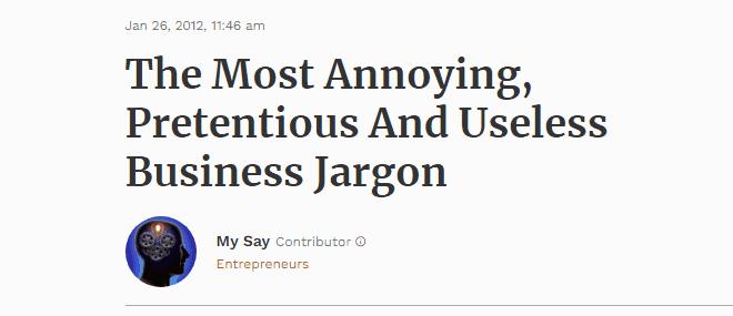 Anger power words in headline