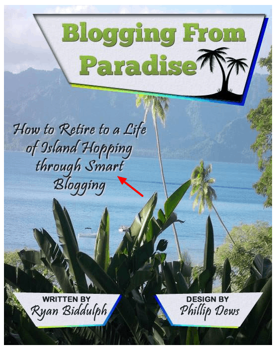 Powere words on ebook cover