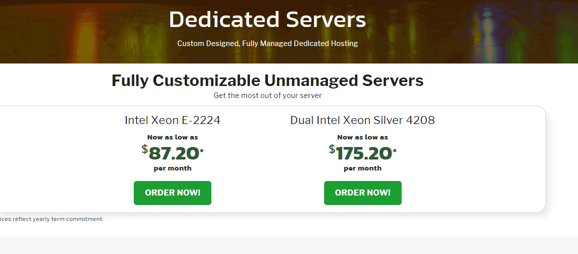 Knownhost dedicated servers hosting