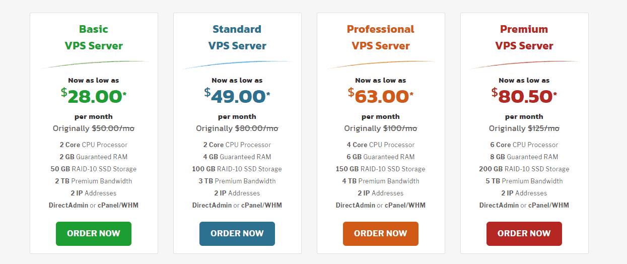 Knownhost VPS hosting plans