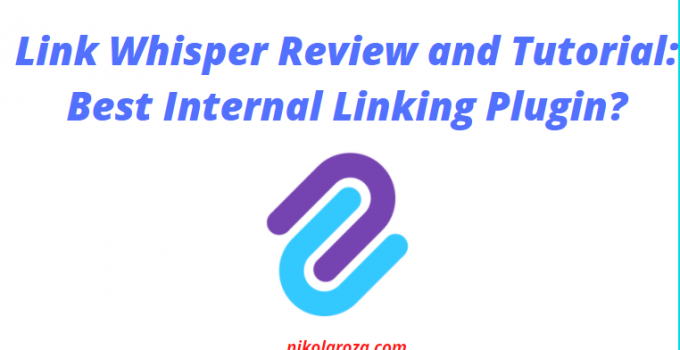 Link Whisper review