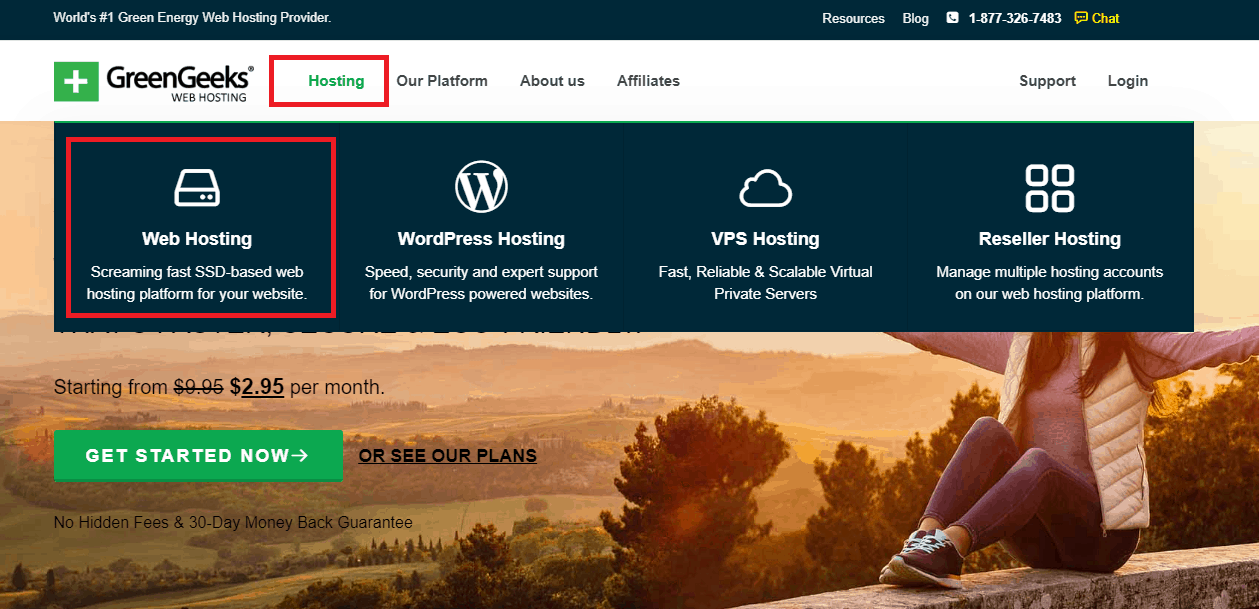GreenGeeks offer free website migration to all new clients