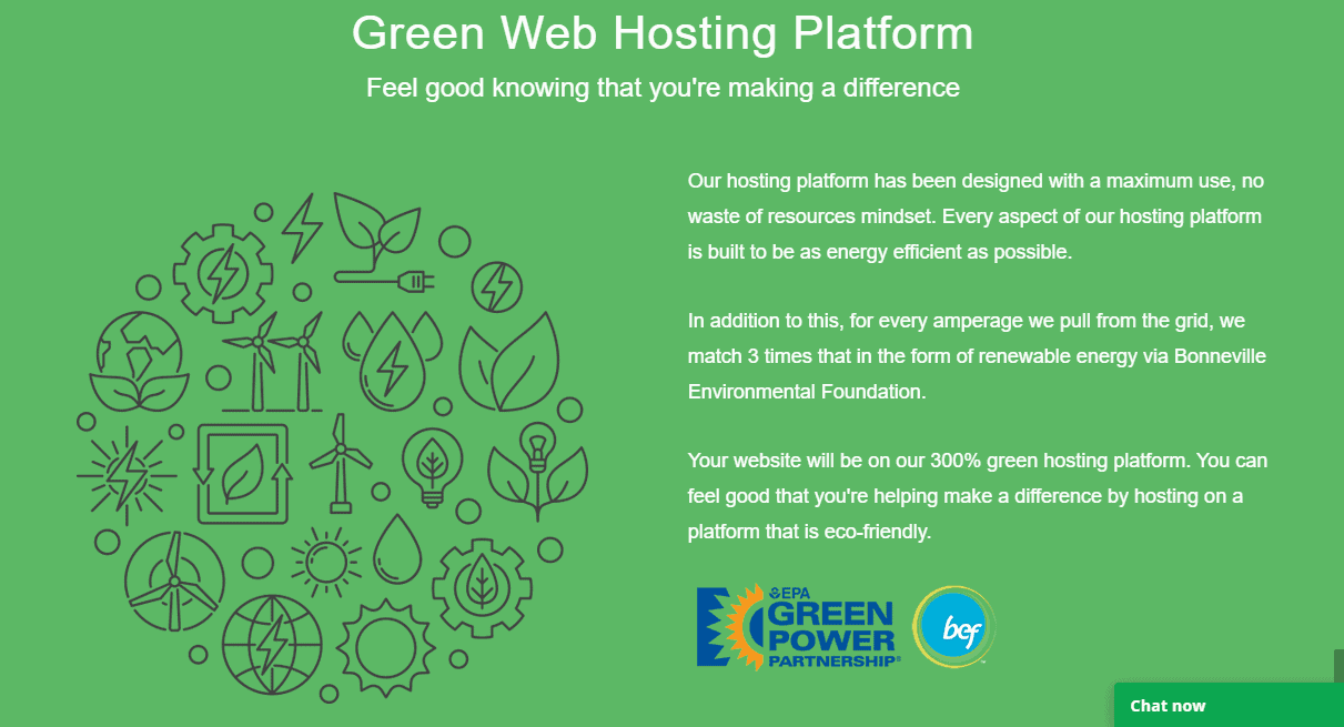 GreenGeeks Hosting work on renewable energy
