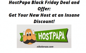 HostPapa Black Friday Deals and Sales