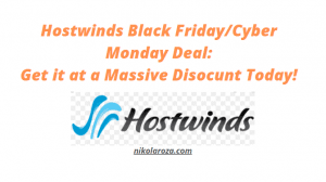 Hostwinds Black Friday Deals and sales 2020