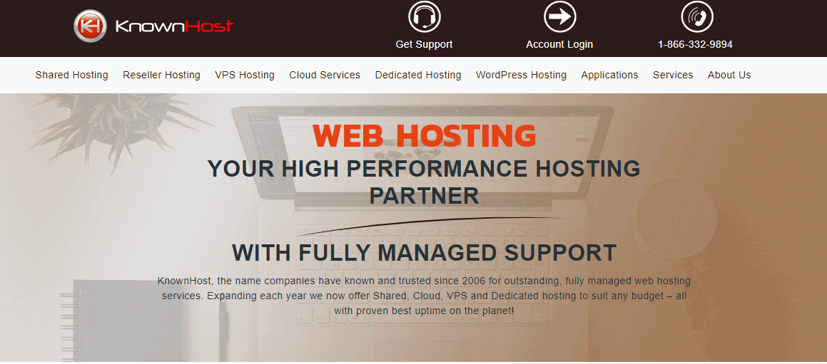 KnownHost different hosting options