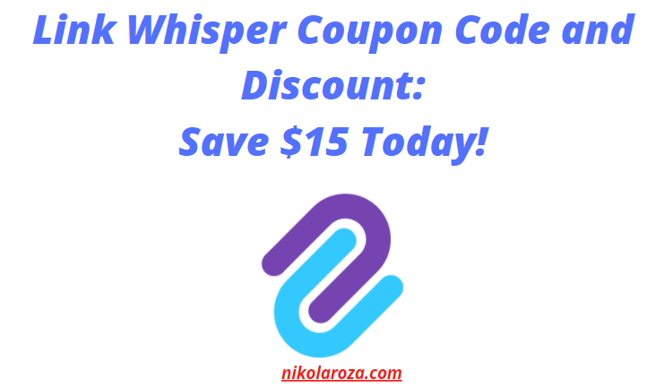 Link Whisper coupon code and discount
