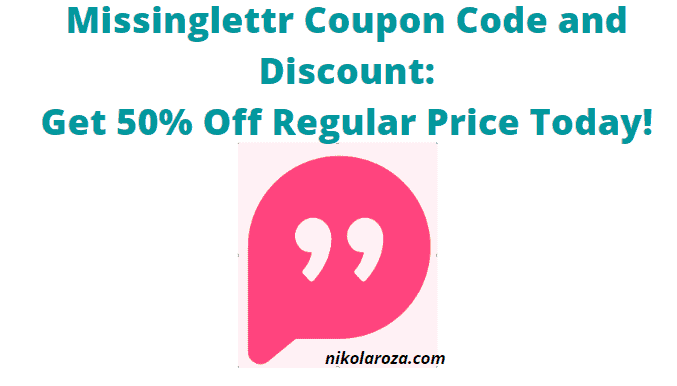 Missinglettr coupon code and discount- Save 50% off with any plan!