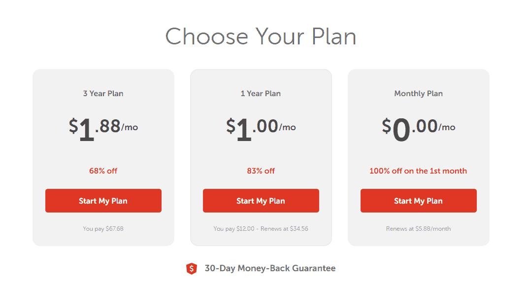 Namecheap VPN plans
