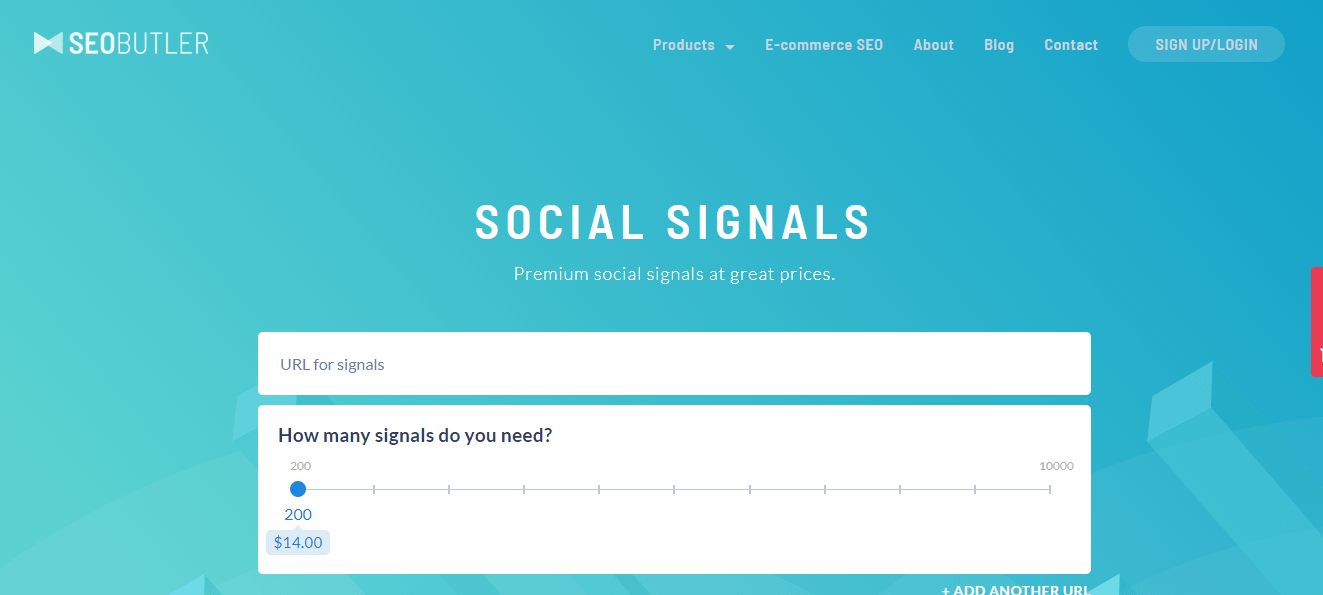 Social signal good for page freshness
