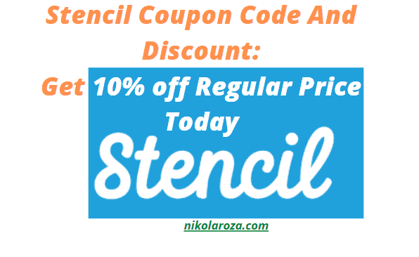 Stencil Coupon and promo code- Get this discount now!