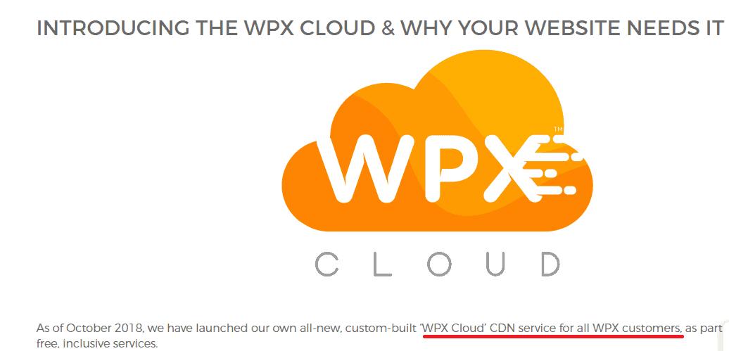 WPX cloud CDN