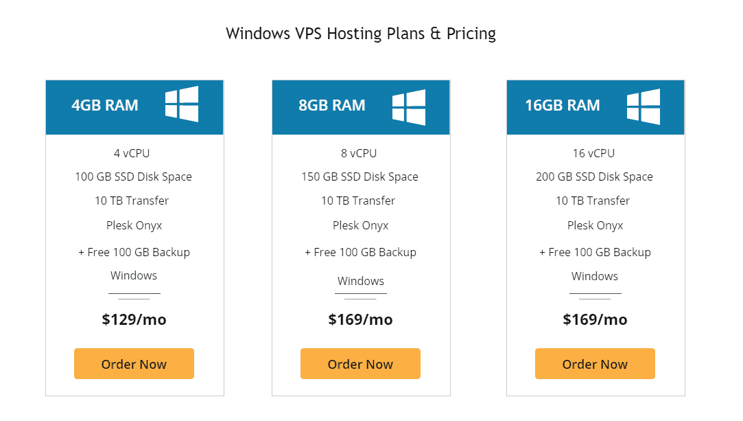 Liquid Web Windows based VPS hosting
