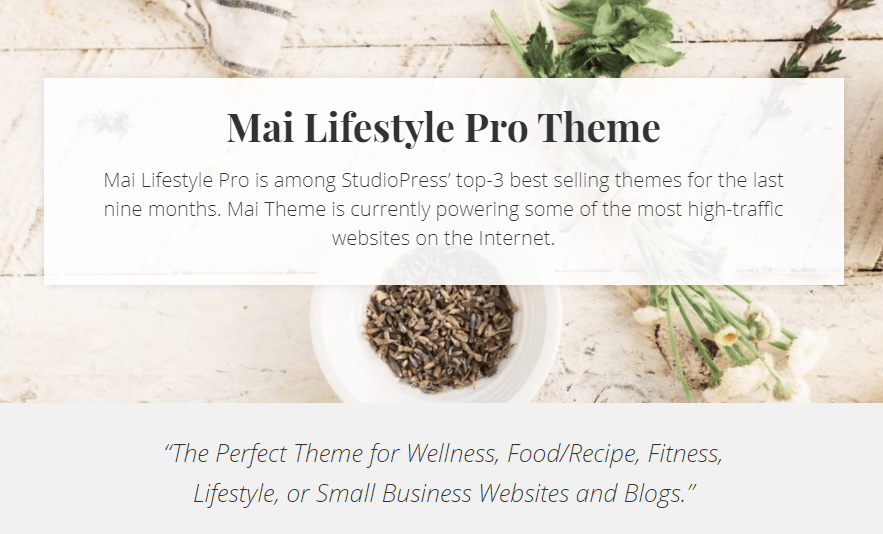 Mai Lifestyle Pro Theme Review