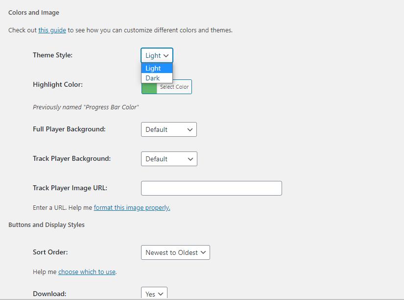 Fusebox change template settings