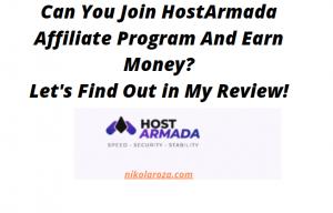 HostArmada affiliate program review
