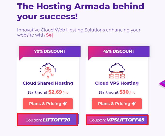 HostArmada Coupon codes and discounts