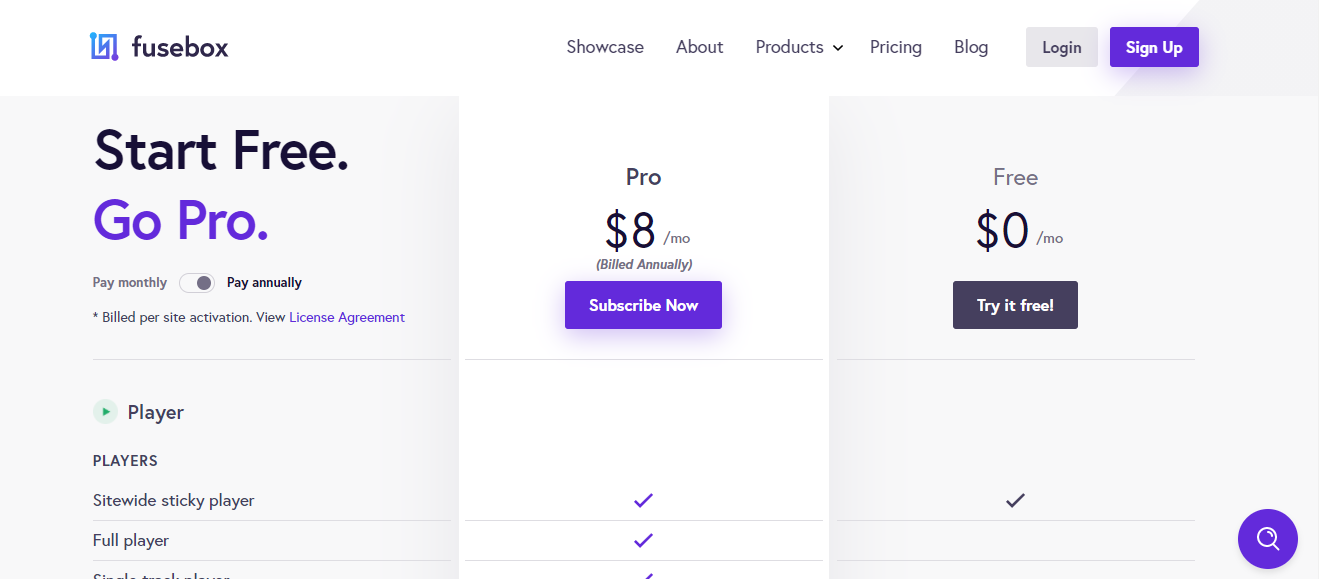 Smart Podcast Player pricing