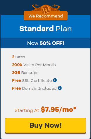 Standard plan specifications