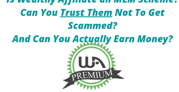 Is Wealthy Affiliate an MLM scheme or not?