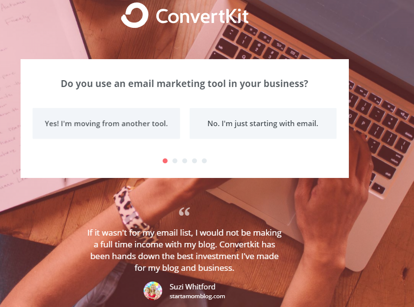 setup ConvertKit account