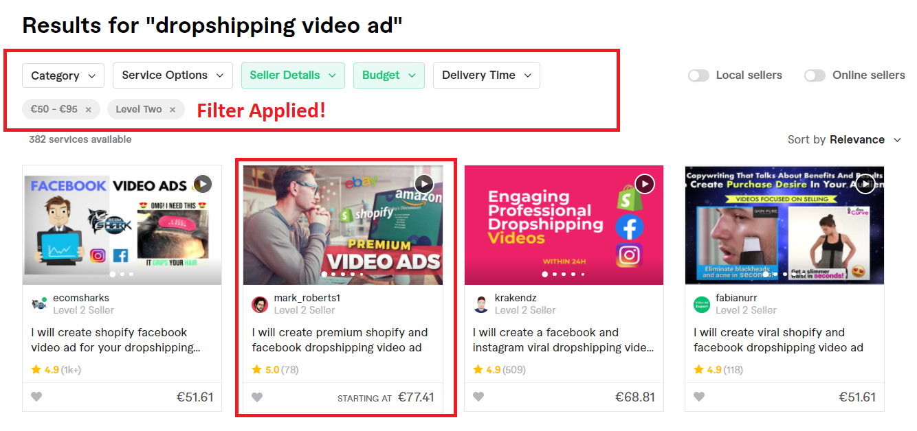 Create video ad for Facebook and Instagram