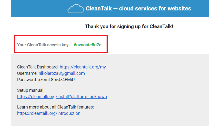 Access key free trial