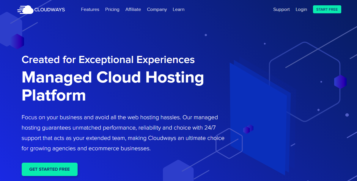 Cloudways free trial hosting offer