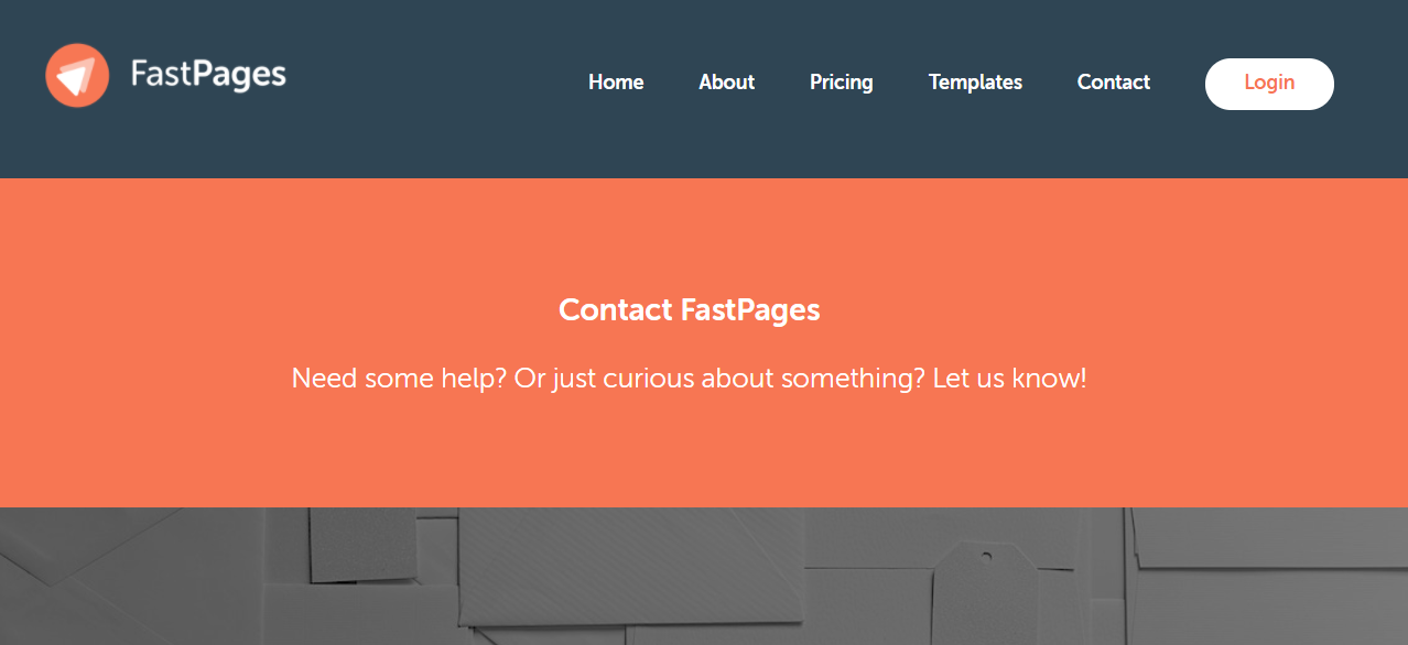 FastPages customer support