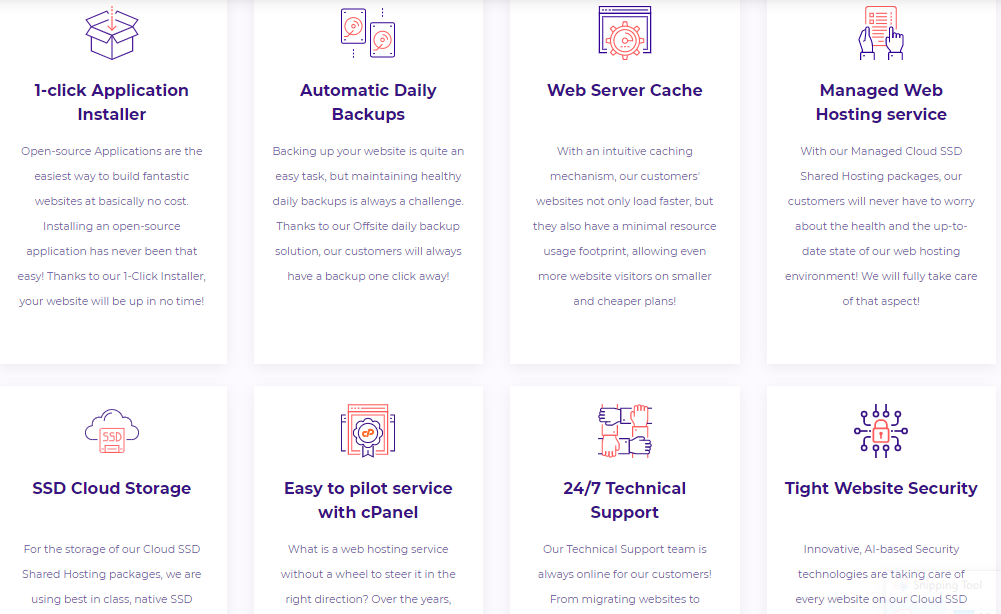 HostArmada hosting features