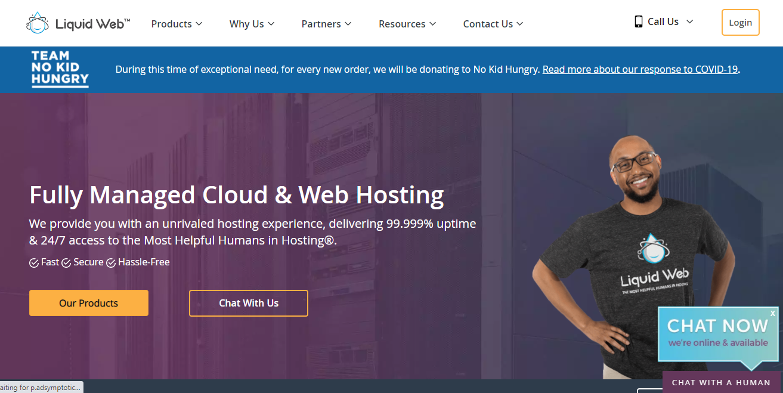 Liquid Web hosting offer free site migration